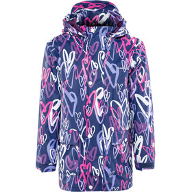 Kamik Heart Veste Enfant, blue depth/magenta